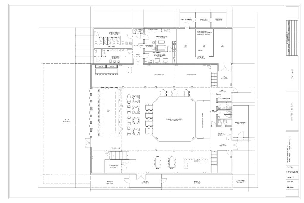1st floor JC COWBOYS